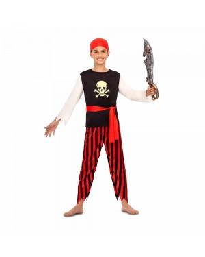 Costume Pirata Teschio Bambino per Carnevale | La Casa di Carnevale
