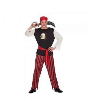 Costume Pirata Teschio Uomo M/L  per Carnevale | La Casa di Carnevale