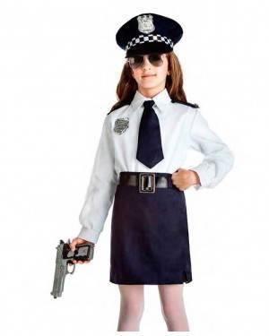 Costume Polizia Bambina per Carnevale   La Casa di Carnevale