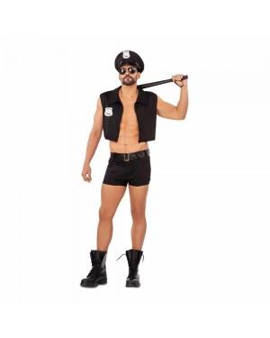 Costume Polizia Sexy Uomo per Carnevale | La Casa di Carnevale