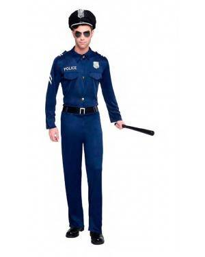 Costume Polizia Tg. XL