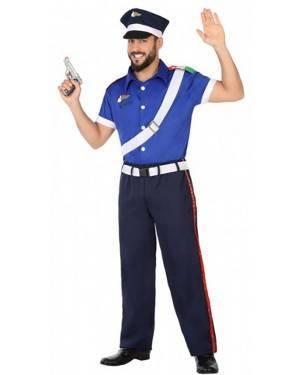 Costume Poliziotto Italiano Adulto per Carnevale | La Casa di Carnevale