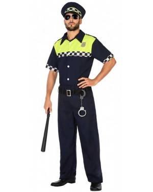 Costume Poliziotto Locale Adulto per Carnevale | La Casa di Carnevale