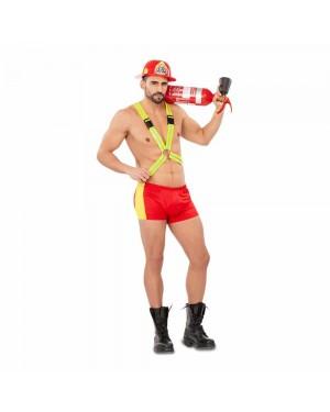 Costume Pompiere Sexy Uomo per Carnevale | La Casa di Carnevale