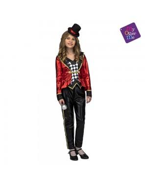 Costume Presentatore Circo Bambina per Carnevale | La Casa di Carnevale