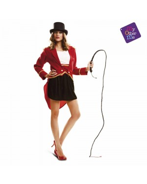 Costume Presentatore Circo Donna M/L per Carnevale | La Casa di Carnevale
