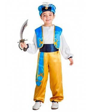 Costume Principe Arabo Aladino Tg. 10-12 Anni