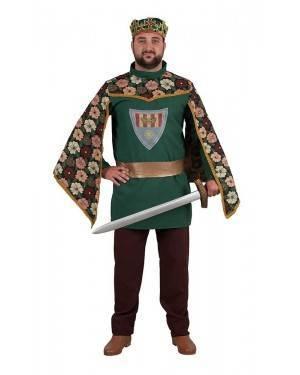 Costume da Principe Medievale Adulto per Carnevale | La Casa di Carnevale