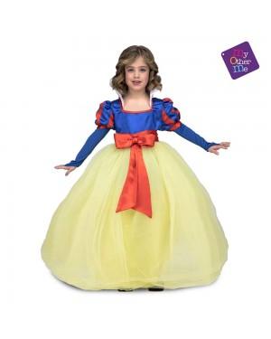 Costume Principessa delle Nevi Bambina per Carnevale | La Casa di Carnevale