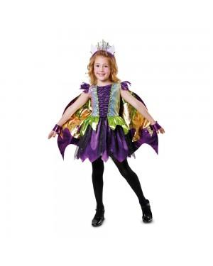 Costume Principessa Drago Bambina per Carnevale | La Casa di Carnevale