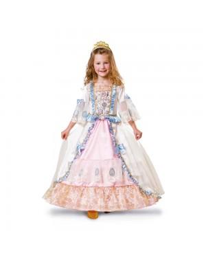 Costume Principessa Luxe Bambina per Carnevale | La Casa di Carnevale