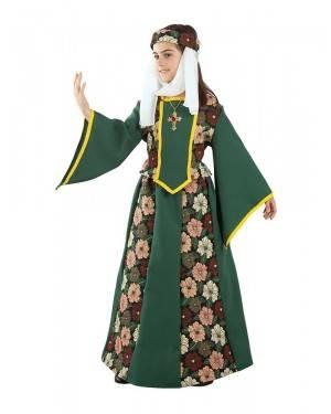 Costume da Principessa Medievale Bambina per Carnevale | La Casa di Carnevale