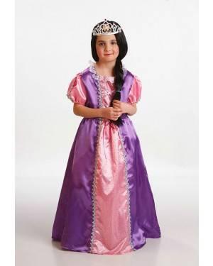Costume Principessa Viola T. 5 a 7 Anni