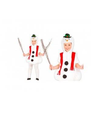 Costume Pupazzo di Neve Bambini