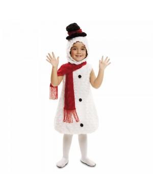 Costume Pupazzo di Neve Peluche Bambini  per Carnevale | La Casa di Carnevale