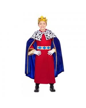 Costume Re Mago Azzurro Bambini per Carnevale | La Casa di Carnevale