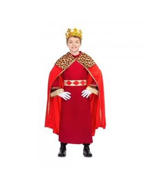 Costume Re Mago Rosso Bambini  per Carnevale | La Casa di Carnevale