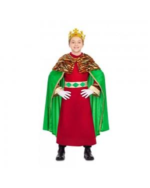 Costume Re Mago Verde Bambini  per Carnevale | La Casa di Carnevale