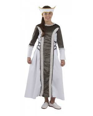 Costume da Regina Medievale Bambino per Carnevale | La Casa di Carnevale