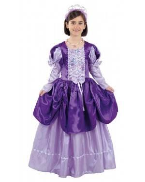 Costume da Regina Viola Bambina