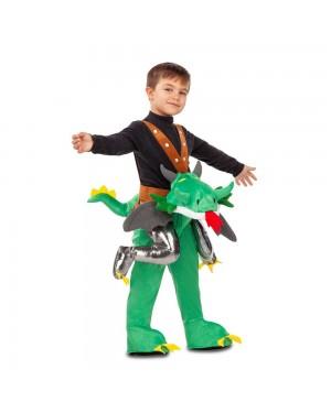 Costume Ride-On Drago di Montagna M/L per Carnevale | La Casa di Carnevale