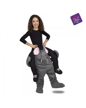 Costume Ride-On Elefante Bambini per Carnevale | La Casa di Carnevale