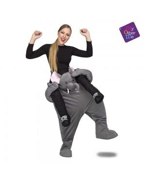 Costume Ride-On Elefante M/L per Carnevale | La Casa di Carnevale