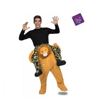 Costume Ride-On Leone M/L per Carnevale | La Casa di Carnevale