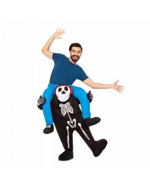 Costume Ride-On Scheletro M/L per Carnevale | La Casa di Carnevale