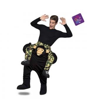 Costume Ride-On  Scimmia M/L per Carnevale | La Casa di Carnevale