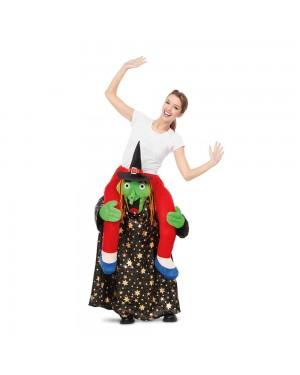 Costume Ride-On Strega Stelle M/L per Carnevale | La Casa di Carnevale
