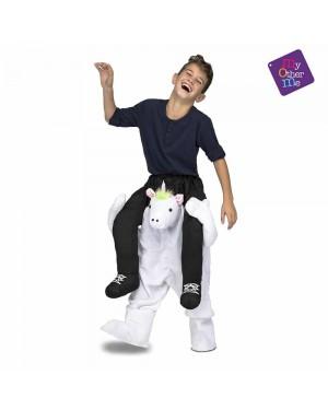 Costume Ride-On Unicorno Bambini per Carnevale | La Casa di Carnevale