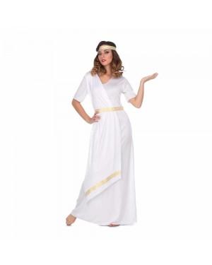 Costume Romana Bianca M/L per Carnevale | La Casa di Carnevale