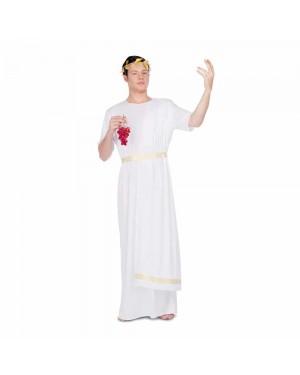 Costume Romano bianco M/L per Carnevale | La Casa di Carnevale