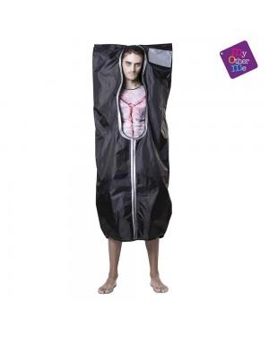 Costume Sacco Cadavere M/L per Carnevale | La Casa di Carnevale