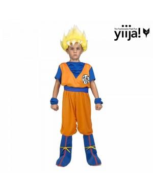Costume Saiyan Goku Bambino per Carnevale | La Casa di Carnevale
