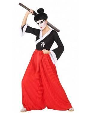 Costume Samurai Donna per Carnevale   La Casa di Carnevale