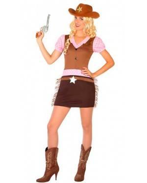 Costume Sceriffo Cowgirl M/L