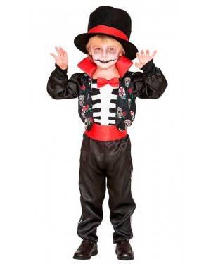 Costume Scheletro Catrin per Carnevale | La Casa di Carnevale