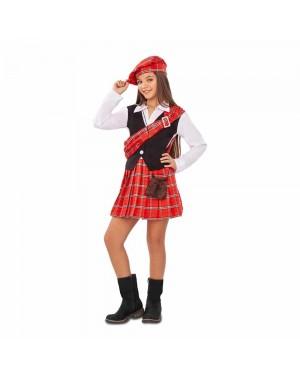 Costume Scozzese Bambina per Carnevale | La Casa di Carnevale
