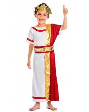 Costume Senatore Romano Rosso per Carnevale | La Casa di Carnevale