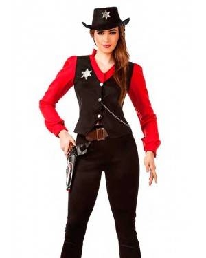 Costume Sheriff Ddonna Tg. M/L