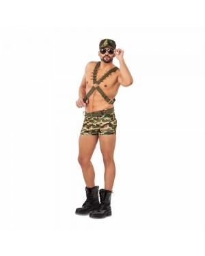Costume Soldato Sexy Uomo per Carnevale | La Casa di Carnevale