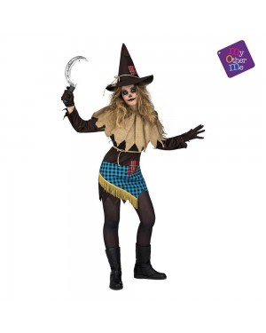 Costume Spaventapasseri Donna M/L per Carnevale | La Casa di Carnevale