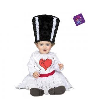 Costume Sposa Frankenstein Bimba per Carnevale | La Casa di Carnevale