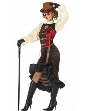 Costume Steampunk Donna per Carnevale | La Casa di Carnevale