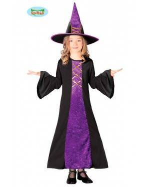 Costume Strega Nera Viola Bambina