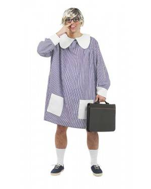 Costume da Studente con Grembiule Adulto
