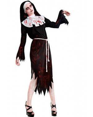 Costume Suora Zombie Tg. M/L