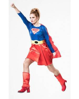 Costume  Super Eroina Donna T. M/L